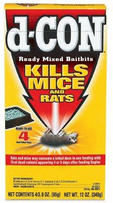 D Con rat poison