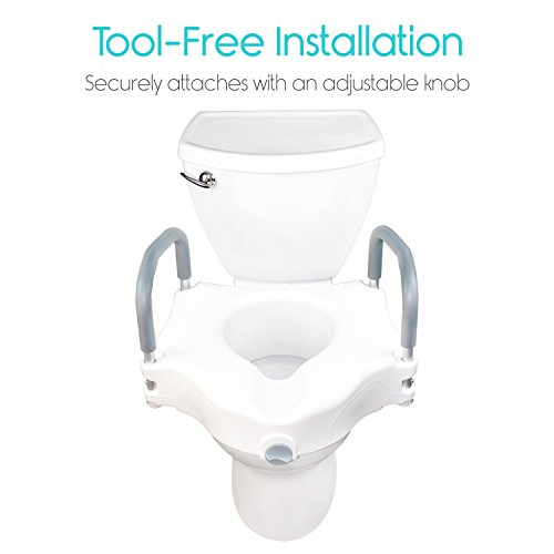 Vive best elevated toilet seat reviews