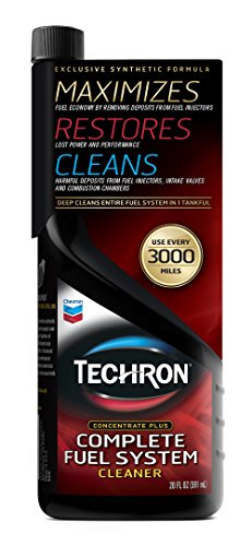 Chevron 65740 Techron Concentrate Plus Fuel System Cleaner