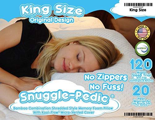 Snuggle pedic pillow review