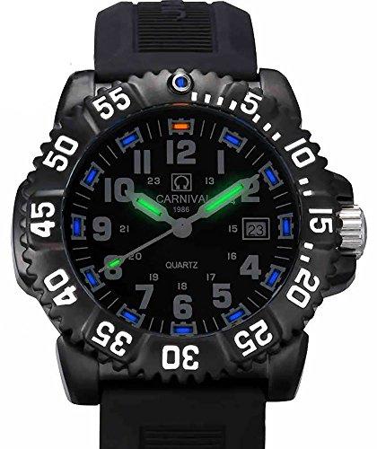 Brightest tritium watch