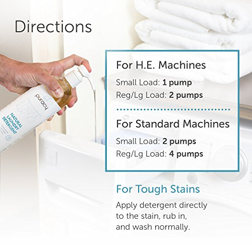 Puracy Natural liquid laundry detergent