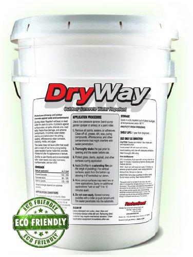 Dryway concrete driveway sealer review