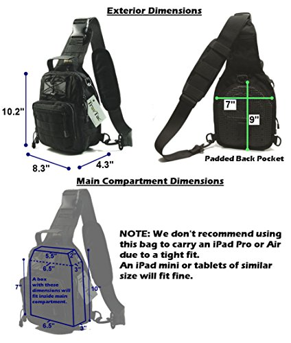 Molle TravTac Stage II small backpack