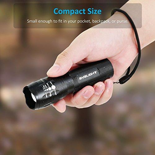 BYB Adjustable Focus CREE LED