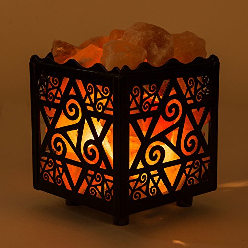 Crystal Decor Salt Lamp