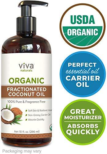 Viva Naturals Fractionated Coconut oil