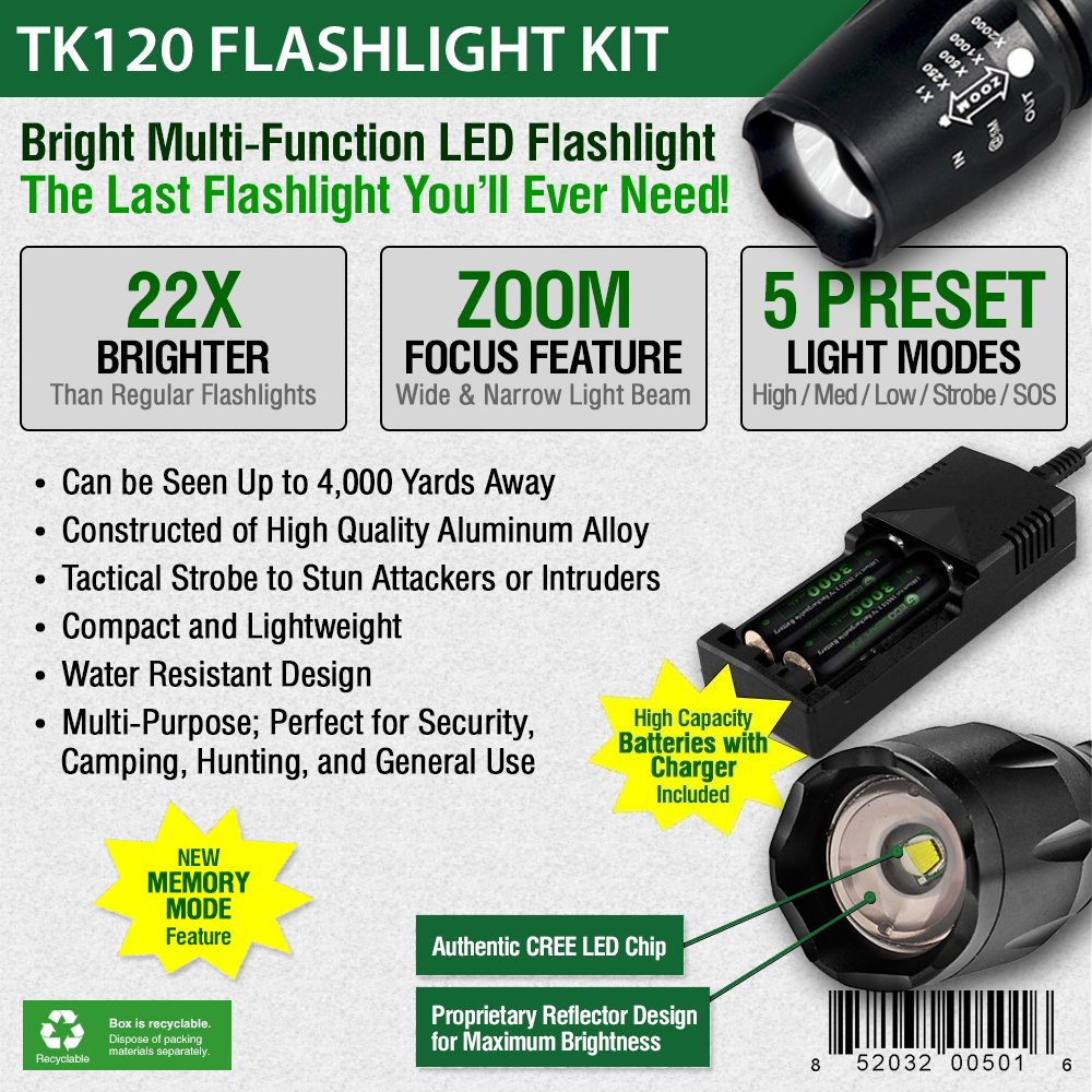 flashlight for longer hours