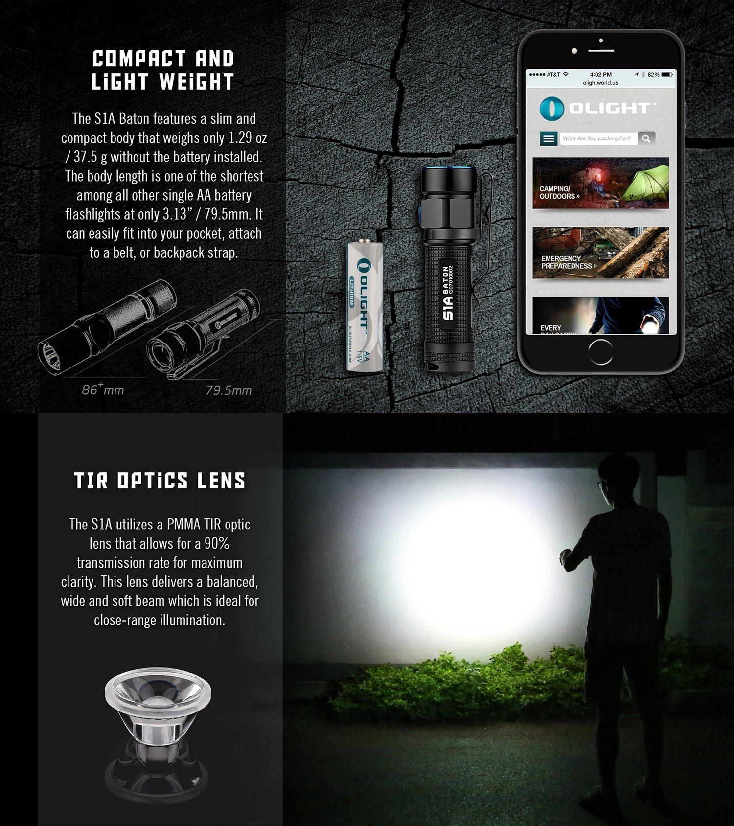 Olight S1A flashlight